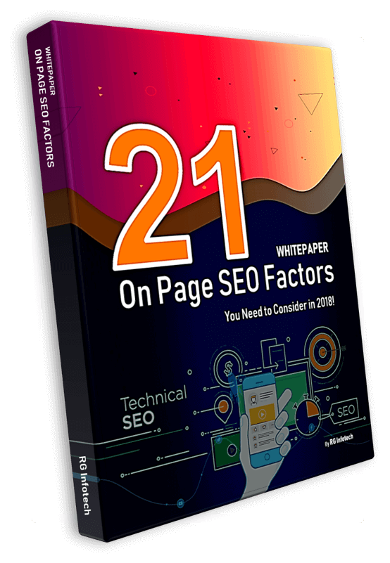 WhitePaper - 21 on page SEO factors