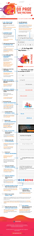 SEO Factors (Infograph)