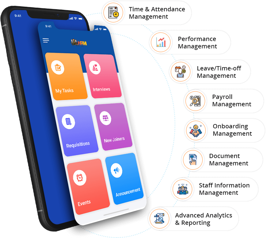 HR App Features - HRM Platform