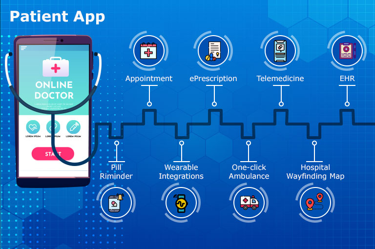 healthcare - patient app