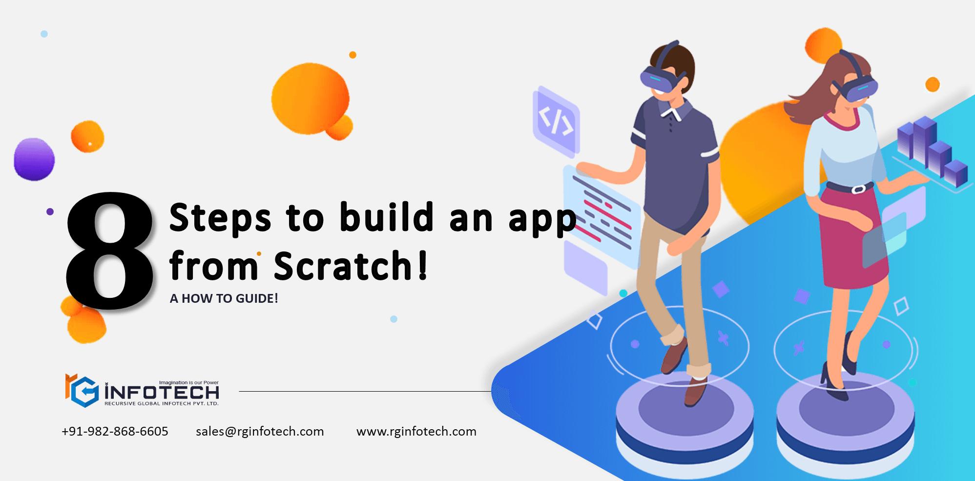 8 steps of app development
